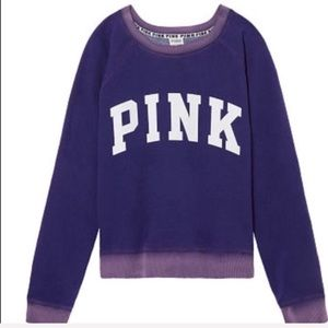 VS PINK Sweatshirt - Purple